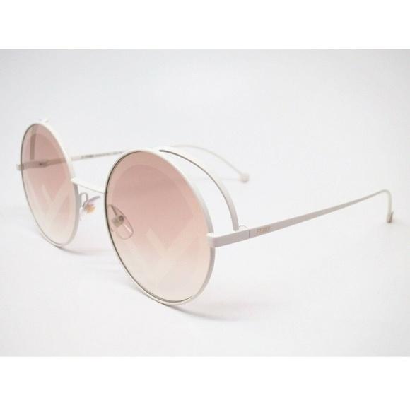 05271e0b9 Fendi Accessories   Ff0343s Vk6eb Brown Gold Sunglasses   Poshmark